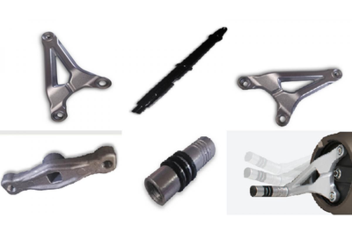 Подножки для электромотоцикла Super Soco TC и TS